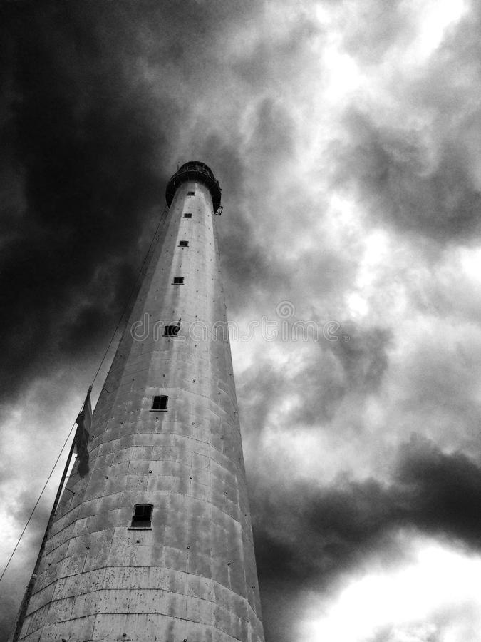 Наблюдая башня стоковая фотография rf