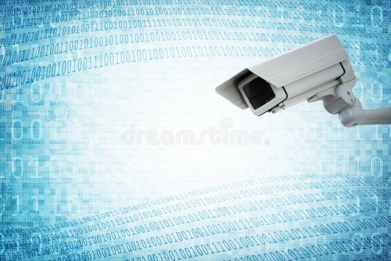Наблюдение камеры слежения старшего брата стоковые фото