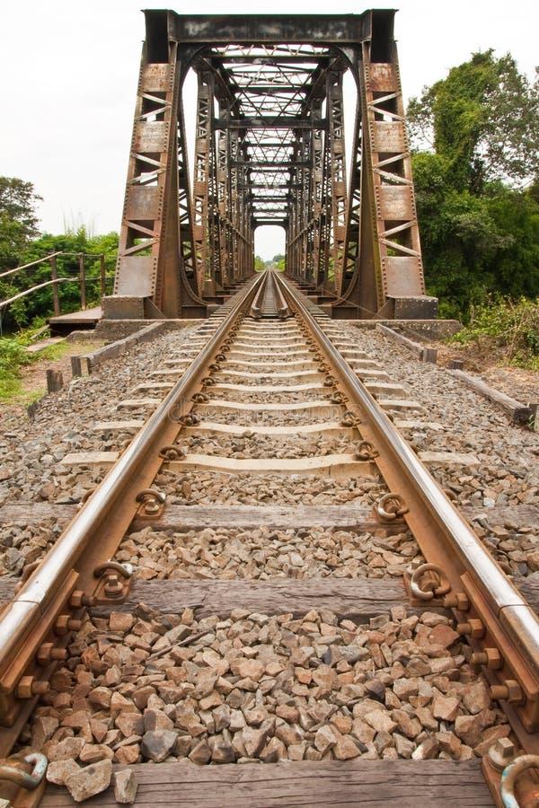наведите поезд Таиланда стоковое изображение rf