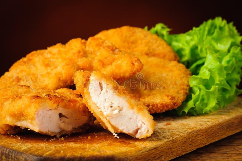 Наггеты цыпленка стоковое изображение rf