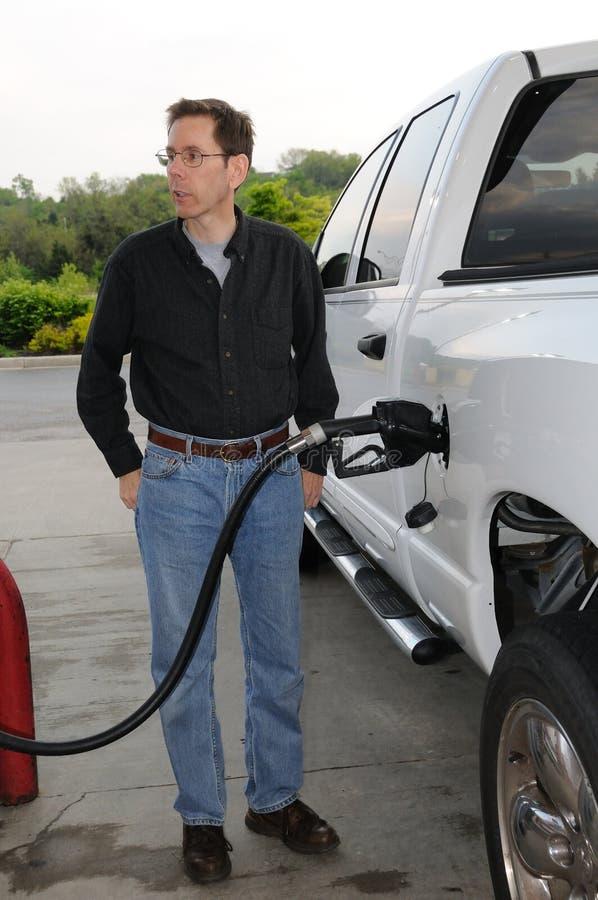 нагнетать газа стоковая фотография