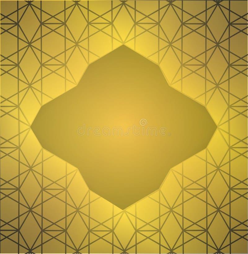 наградные backgrouds Нового Года золота иллюстрация вектора