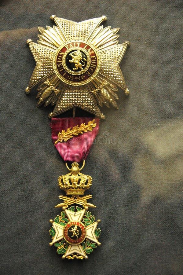 награженное великобританское общее медаль к стоковая фотография