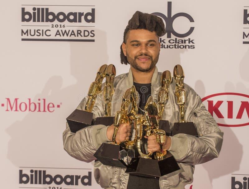 Награды 2016 музыки афиши стоковая фотография rf