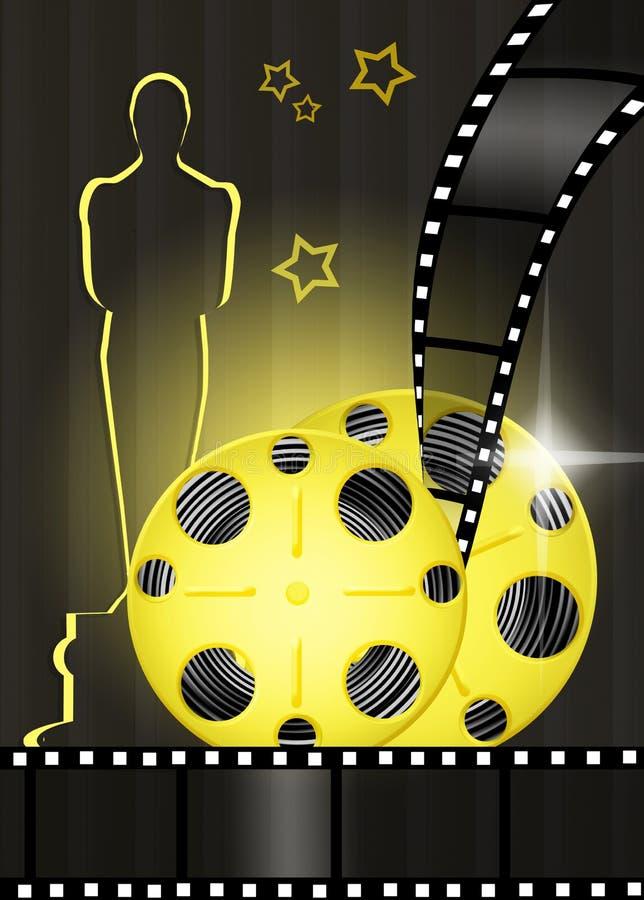 Награды Оскара иллюстрация штока