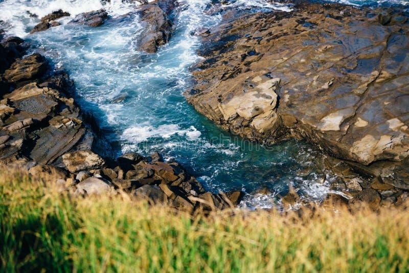 нагруженный ветерком топливозаправщик моря масла стоковые фотографии rf
