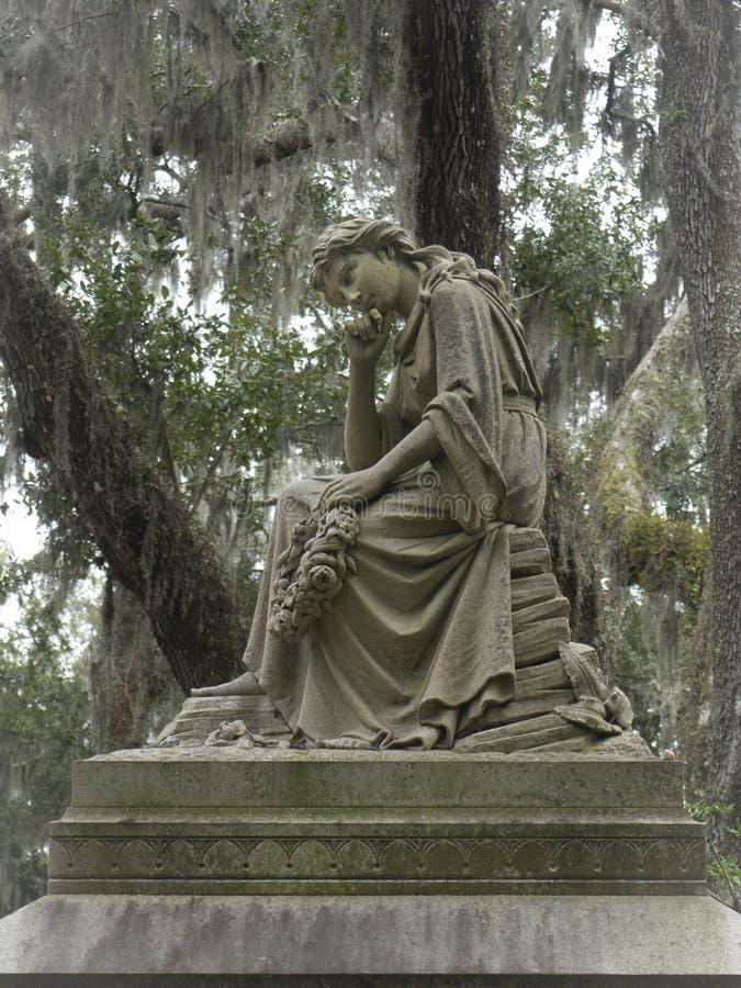 Надгробная плита в кладбище Бонавентуры стоковая фотография rf
