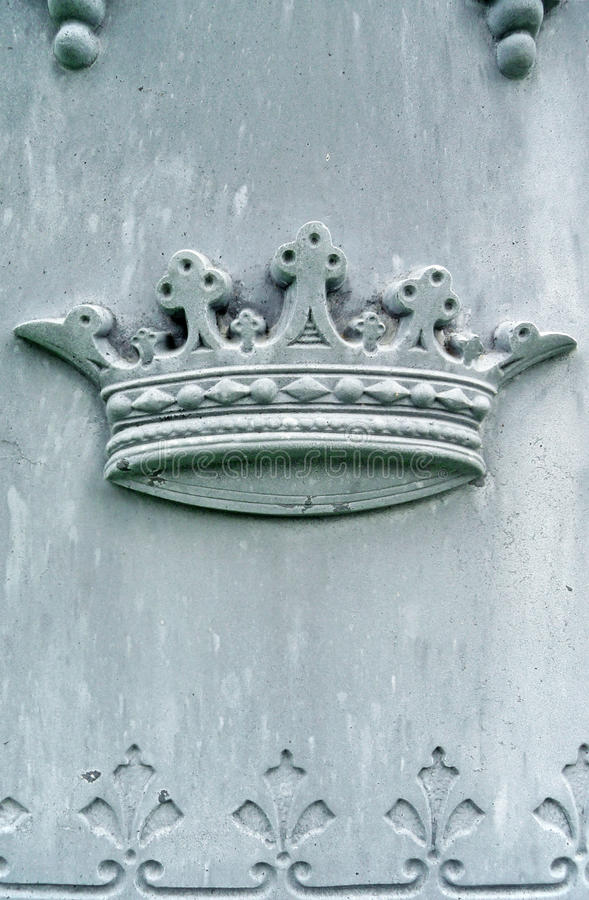 надгробная плита детали девятнадцатых кроны столетия стоковая фотография rf