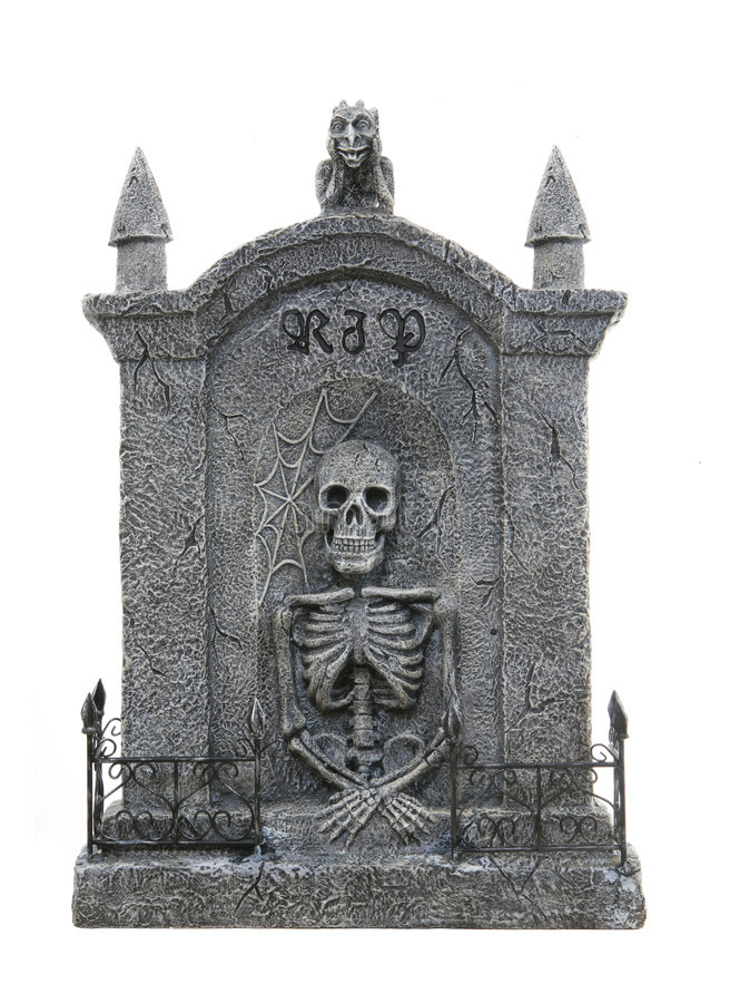 надгробная плита halloween стоковая фотография