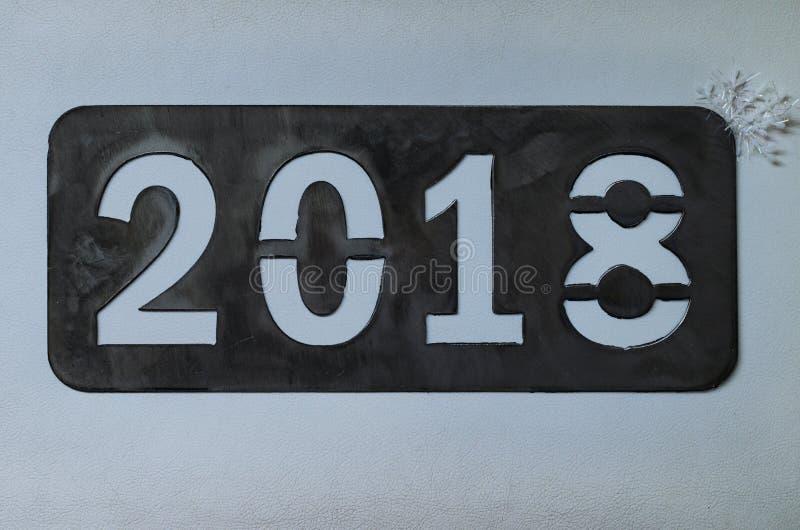 Надпись 2018 ` s Нового Года стоковые изображения rf