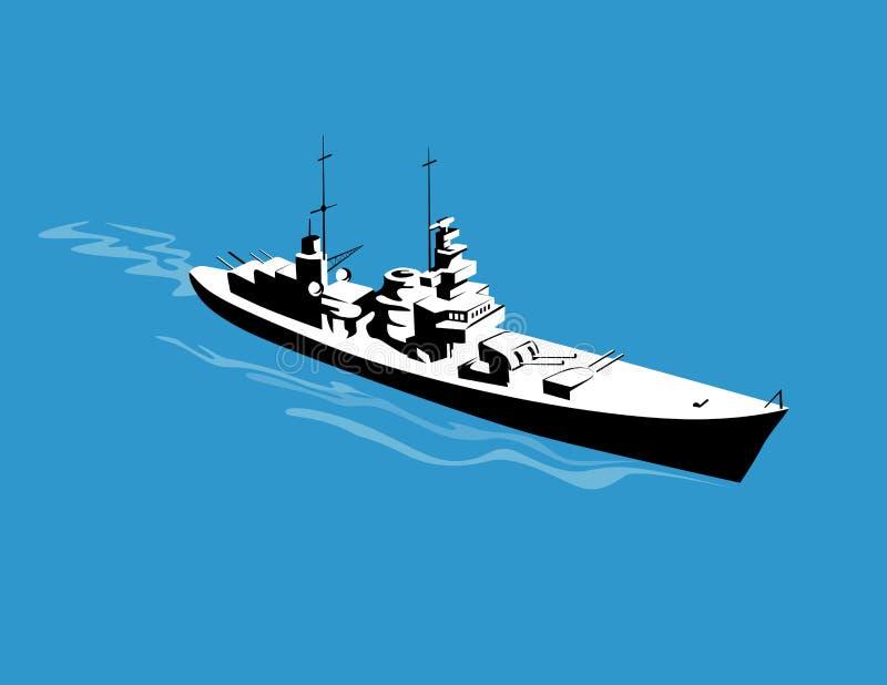 над как осмотренным военным кораблем бесплатная иллюстрация