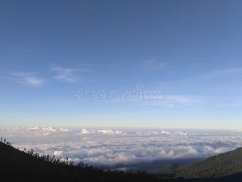 над облаком стоковая фотография rf