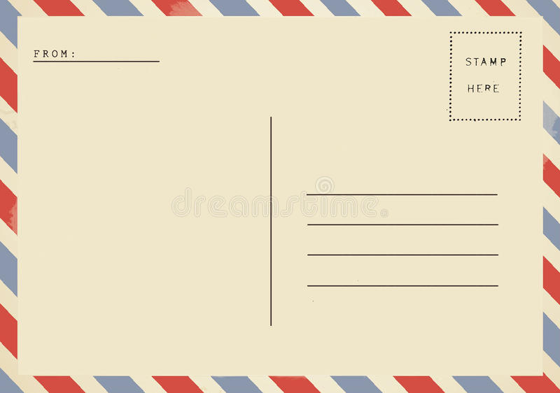 Отправила открытку без марки