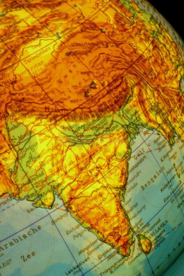 назначение Индия стоковое изображение rf