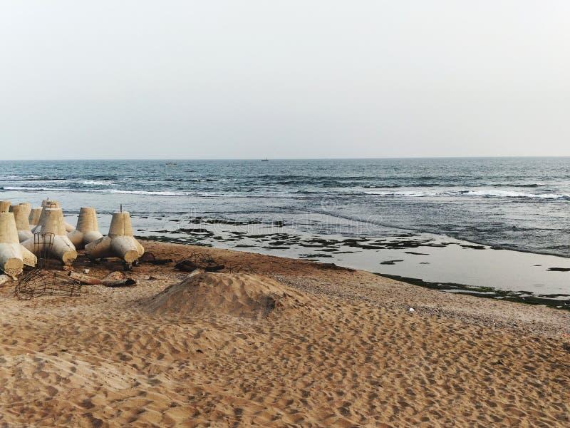 Назначение пляжа стоковое изображение