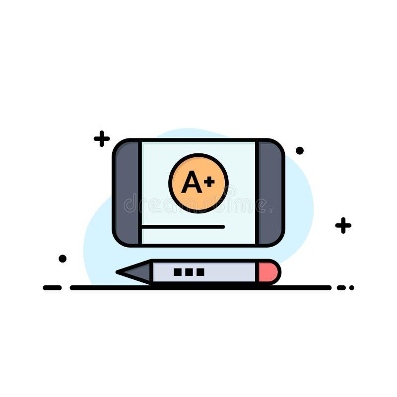 Наиболее хорошо ранг, достигните, шаблон логотипа образовательного бизнеса r иллюстрация штока
