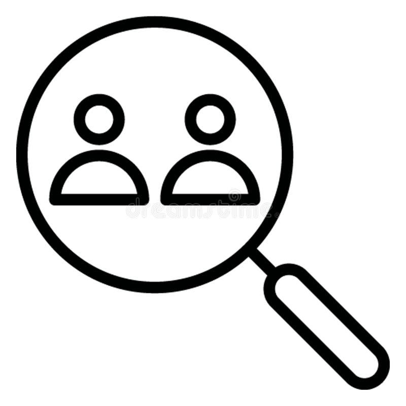 Найдите изолированный другом значок вектора который может легко доработать иллюстрация вектора