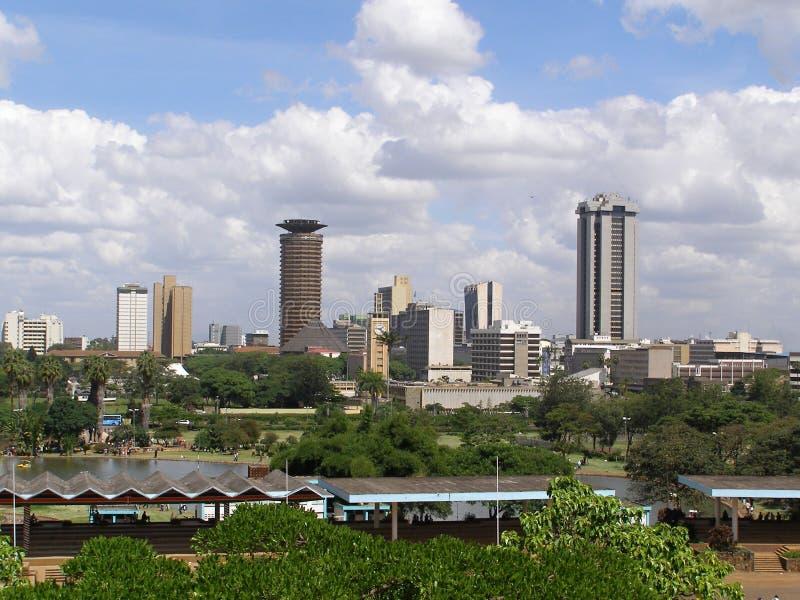 Найроби городской стоковая фотография rf