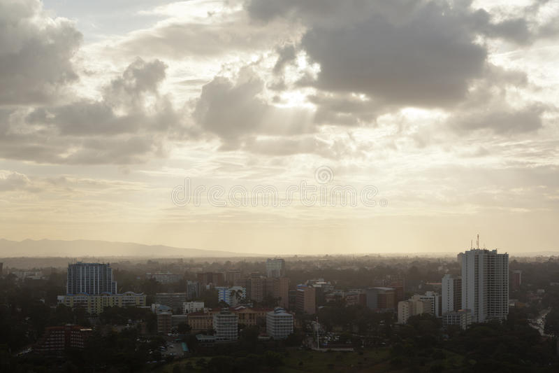 Найроби Uhuru Park, Кения стоковое фото