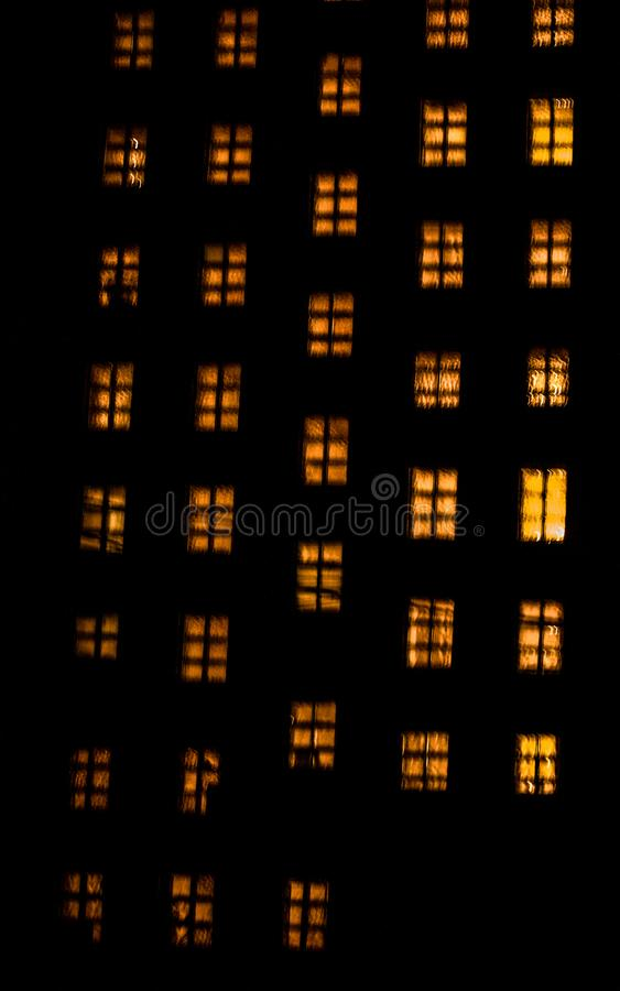 Накаляя окна стоковые изображения