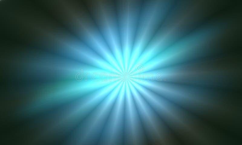 Накаляя предпосылка световых эффектов изолированная Вспышка Солнця с лучами и фарой Свет зарева Яркий, бывший иллюстрация вектора