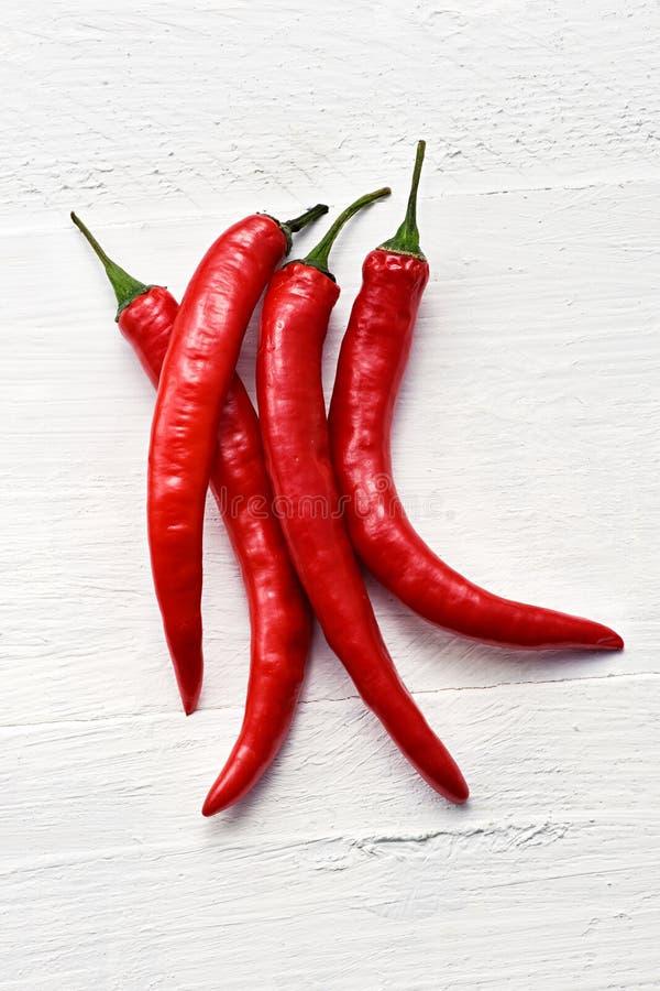Накаленные докрасна перцы chili стоковая фотография