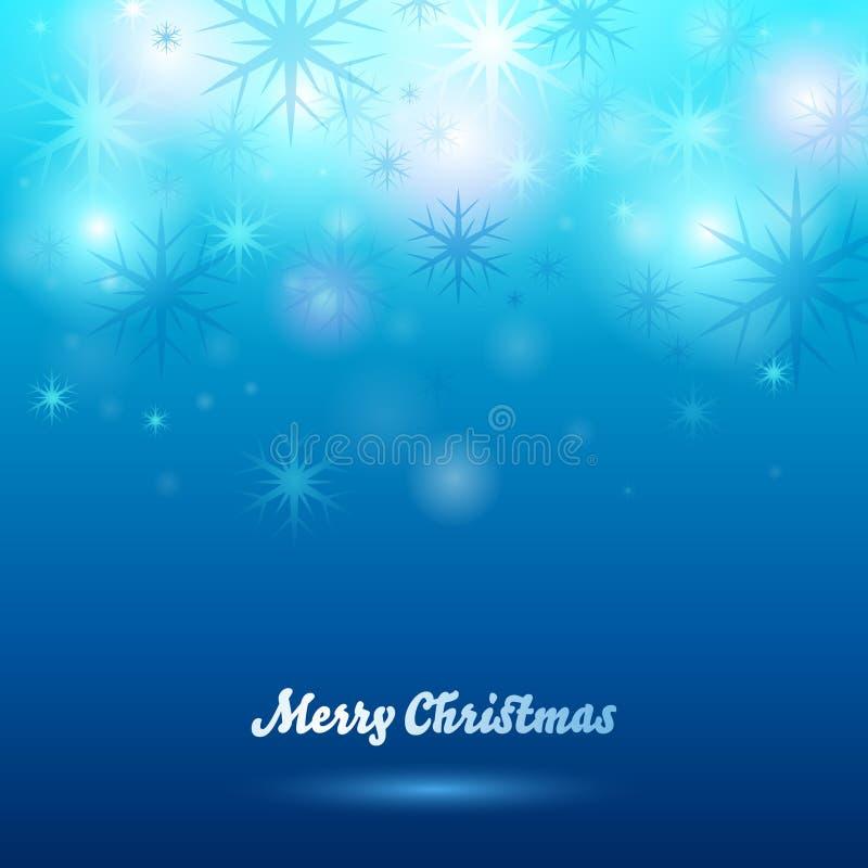 накалять рождества предпосылки голубые снежинки бесплатная иллюстрация