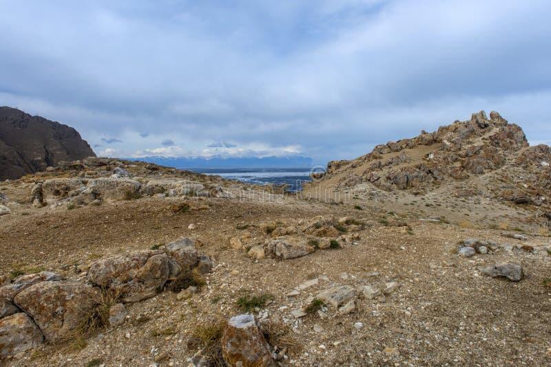Накидка влюбленности, остров Olkhon стоковое изображение