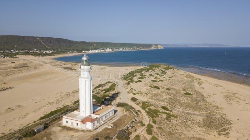 Накидка Trafalgar, Коста de Ла Luz, Андалусия, Испания стоковые изображения