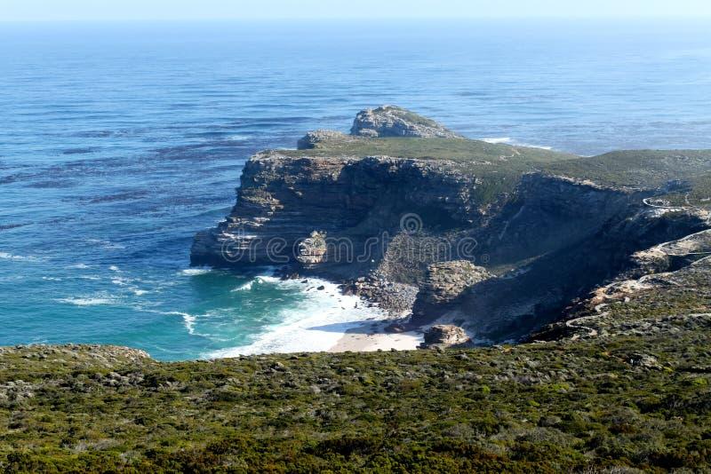 Накидка хорошей надежды, Южная Африка стоковые изображения rf