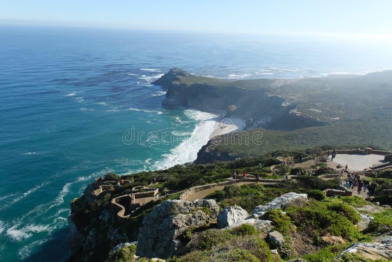 Накидка хорошей надежды, Южная Африка стоковые фотографии rf