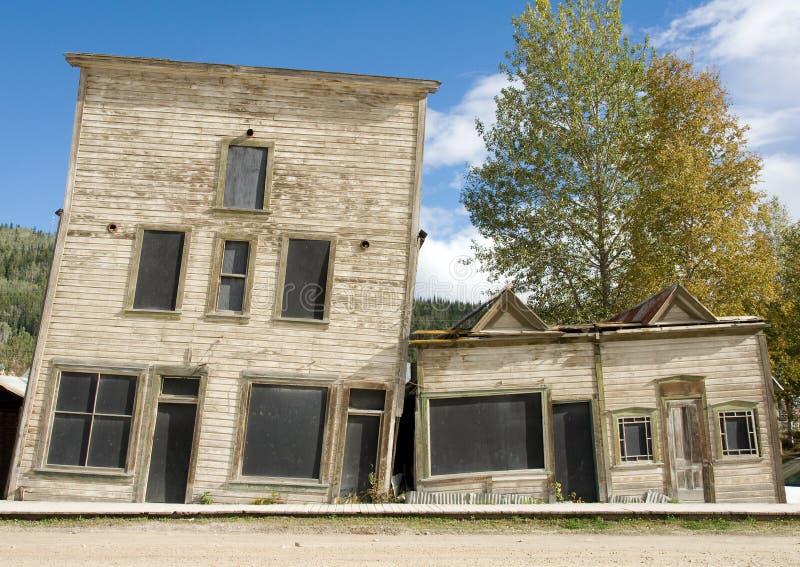 наклоненное наследие зданий стоковое фото rf