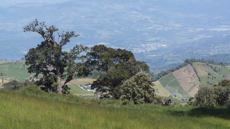 Наклон вулкана Irazu стоковое изображение
