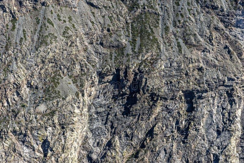 Наклон горы облицовывает текстуру стоковая фотография rf