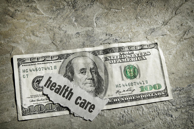 Наличные деньги медицинского соревнования стоковая фотография rf