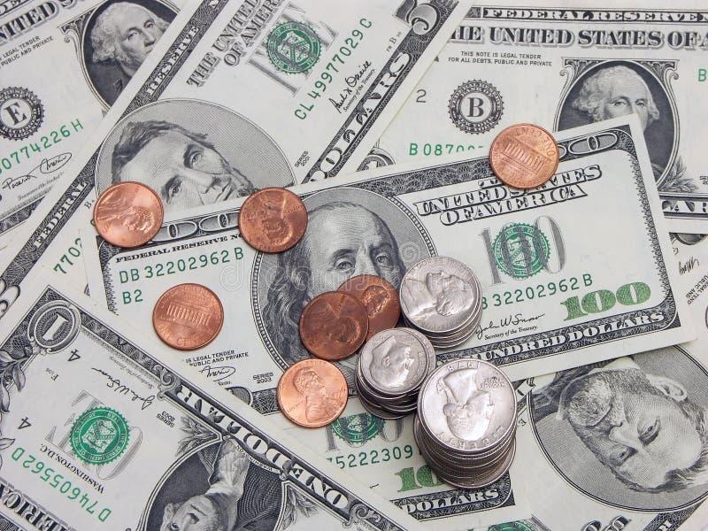 наличные деньги трудные стоковая фотография