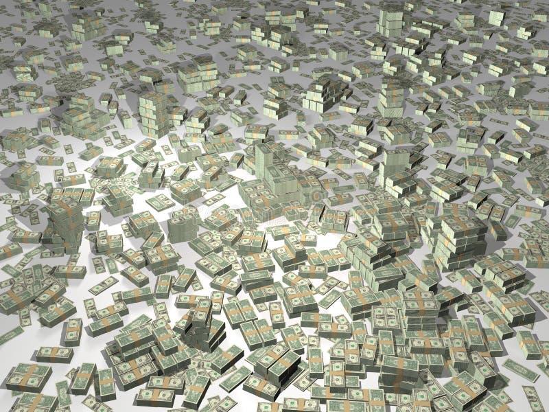 наличные деньги иллюстрация вектора