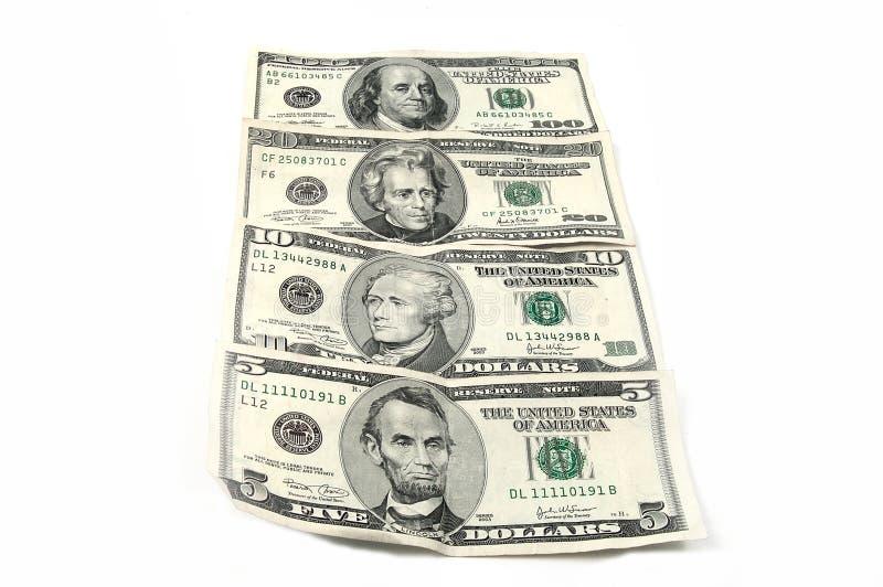 наличные деньги 5 Стоковое Изображение