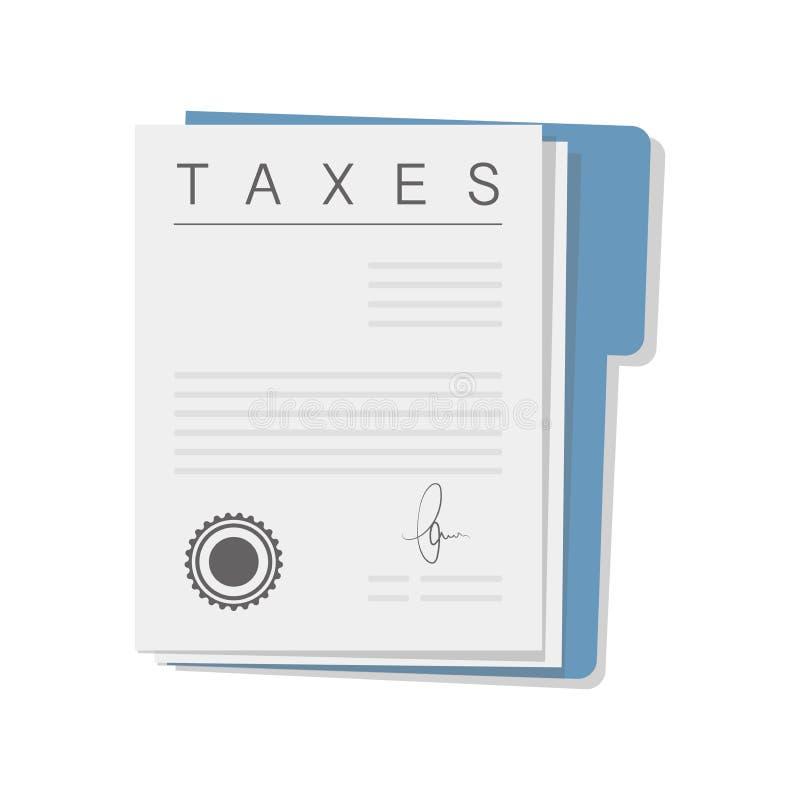 Налоги бесплатная иллюстрация