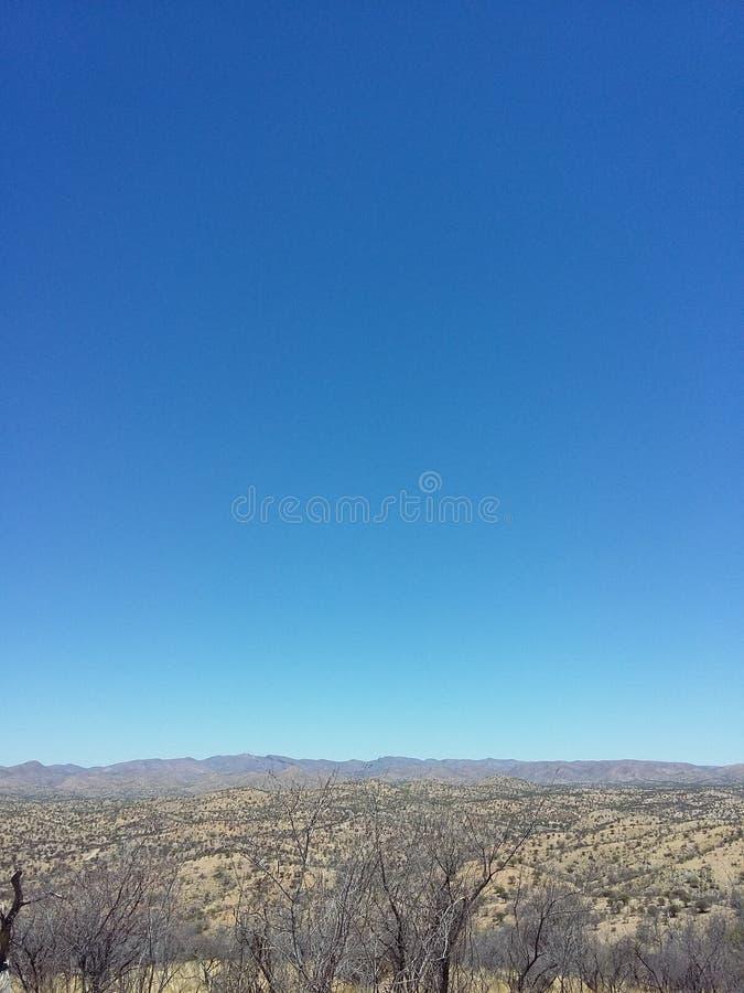 Намибийские skyes стоковое изображение rf