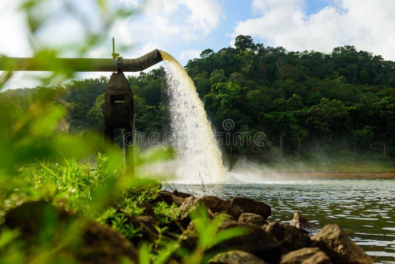 Намочите от стока в продукции воды стоковое фото rf