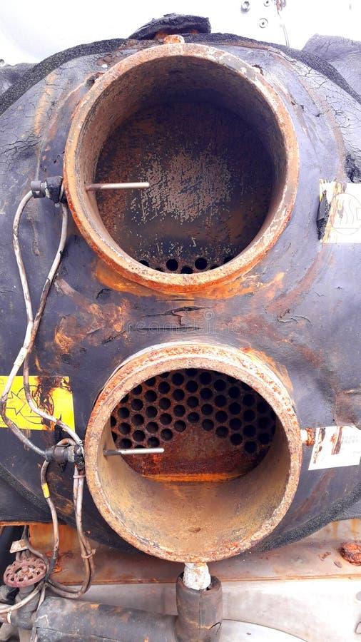 Намочите охлаженный охладитель тип охлаженный водой конденсатор стоковая фотография rf