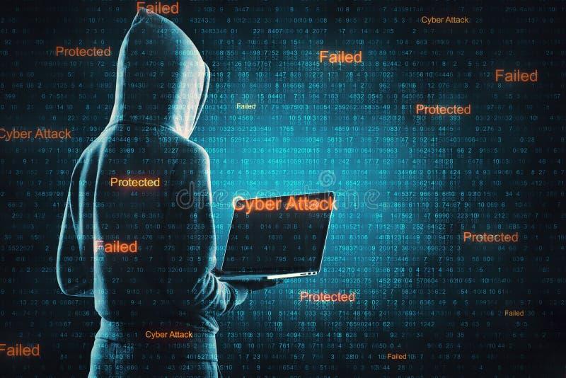 Нападение вируса и концепция защиты стоковые фото
