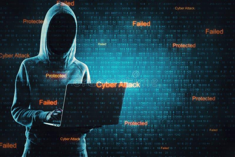 Нападение вируса и концепция malware стоковое фото rf