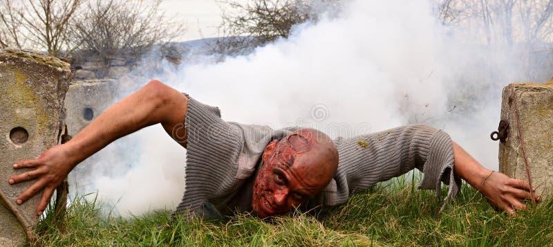 Нападение зомби стоковые фото