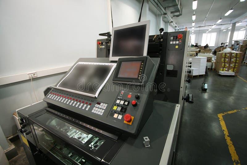 Напечатанное оборудование стоковое изображение