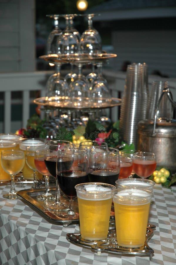 напитки стоковое изображение rf