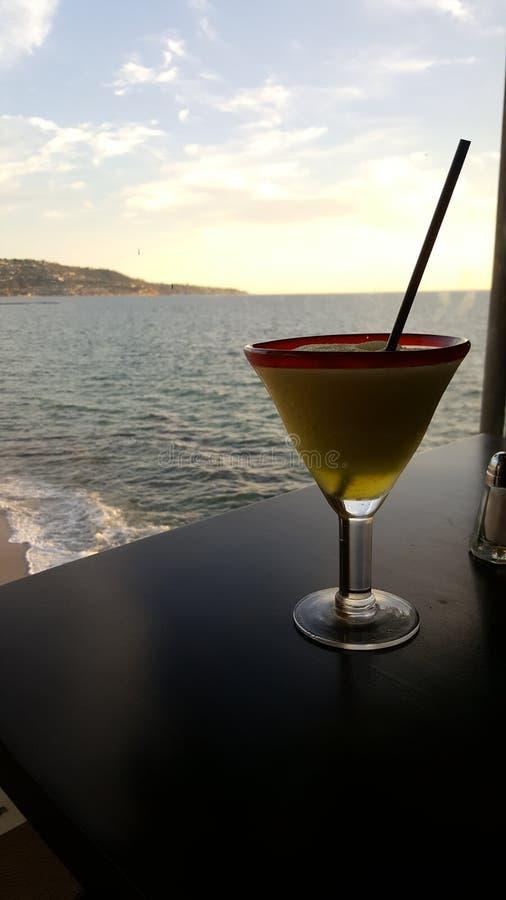 Напиток заливом стоковая фотография rf