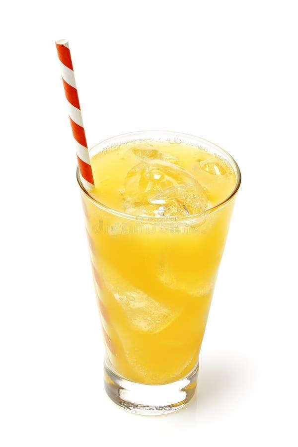 Напиток оранжевой соды стоковое изображение rf