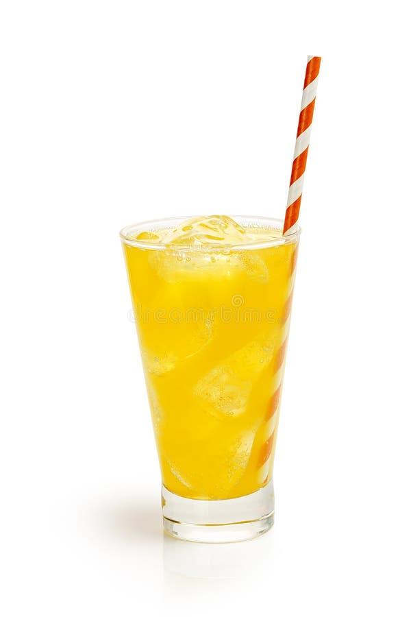 Напиток оранжевой соды стоковое фото rf
